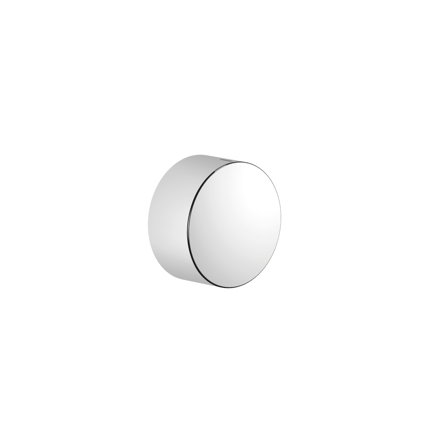 """Volume Control counter-clockwise closing hot 1/2"""" - polished chrome"""