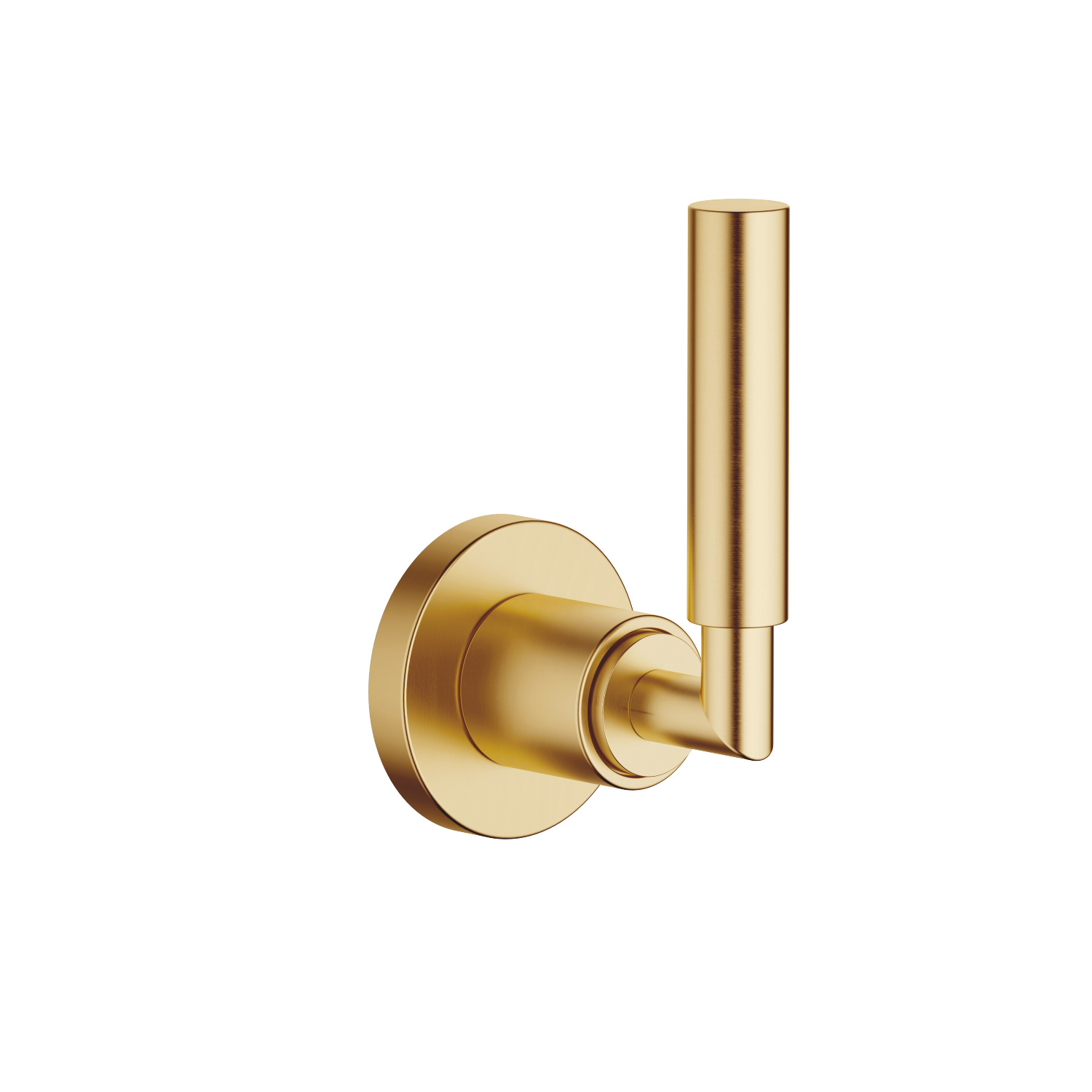 "Volume Control clockwise-closing 1/2"" - Brushed Durabrass"