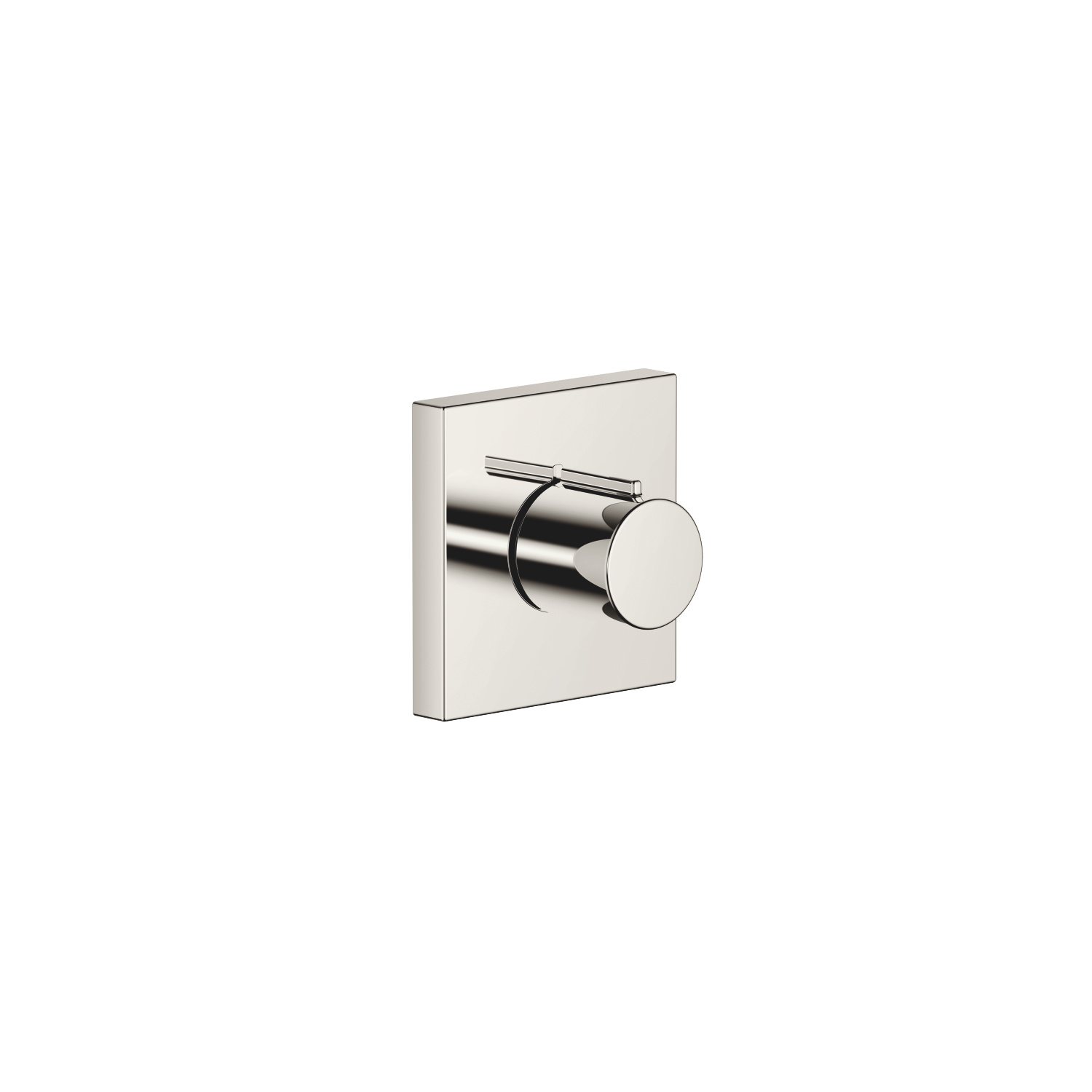 "Wall valve anti-clockwise closing 1/2"" - platinum"