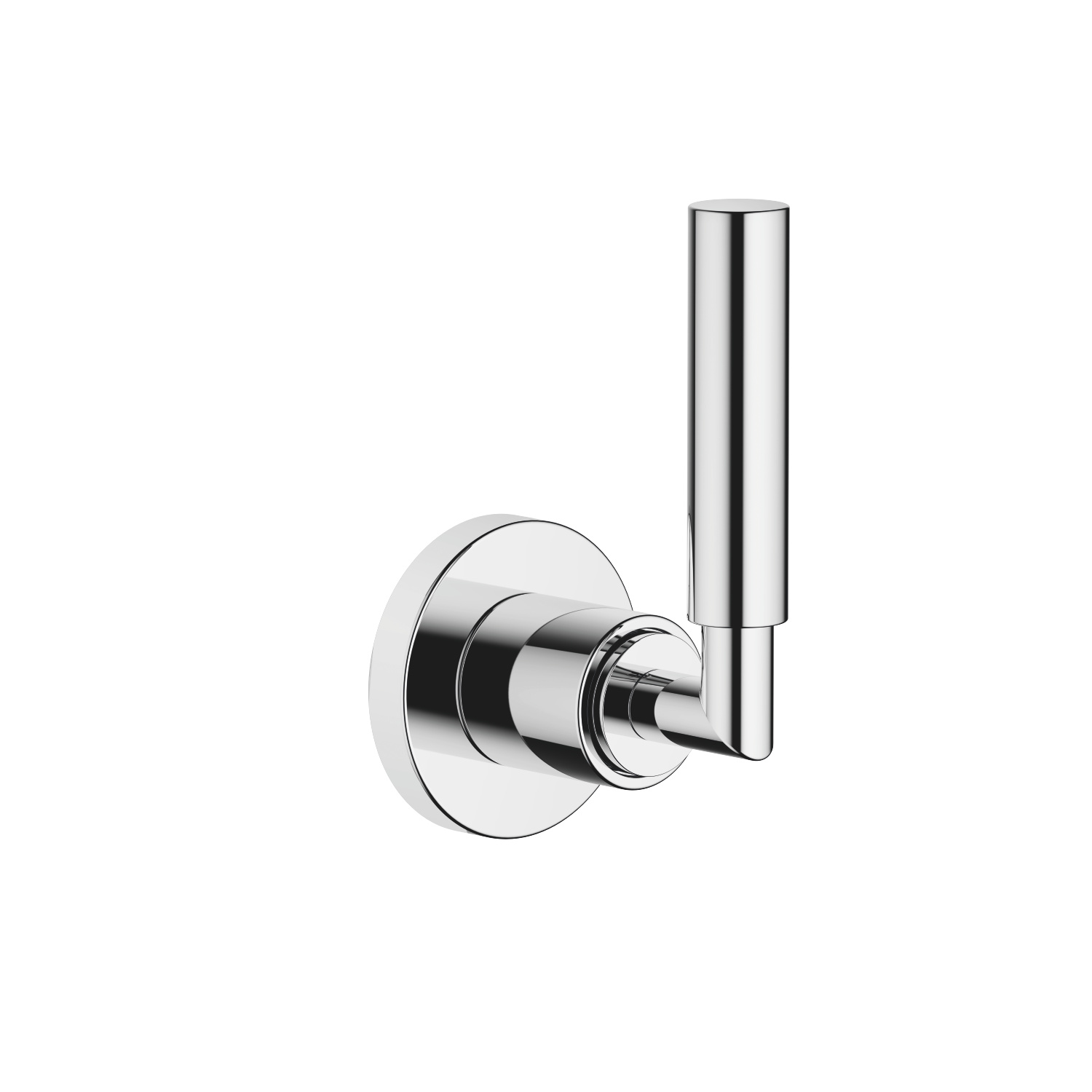 "Wall valve clockwise closing 3/4"" - polished chrome"