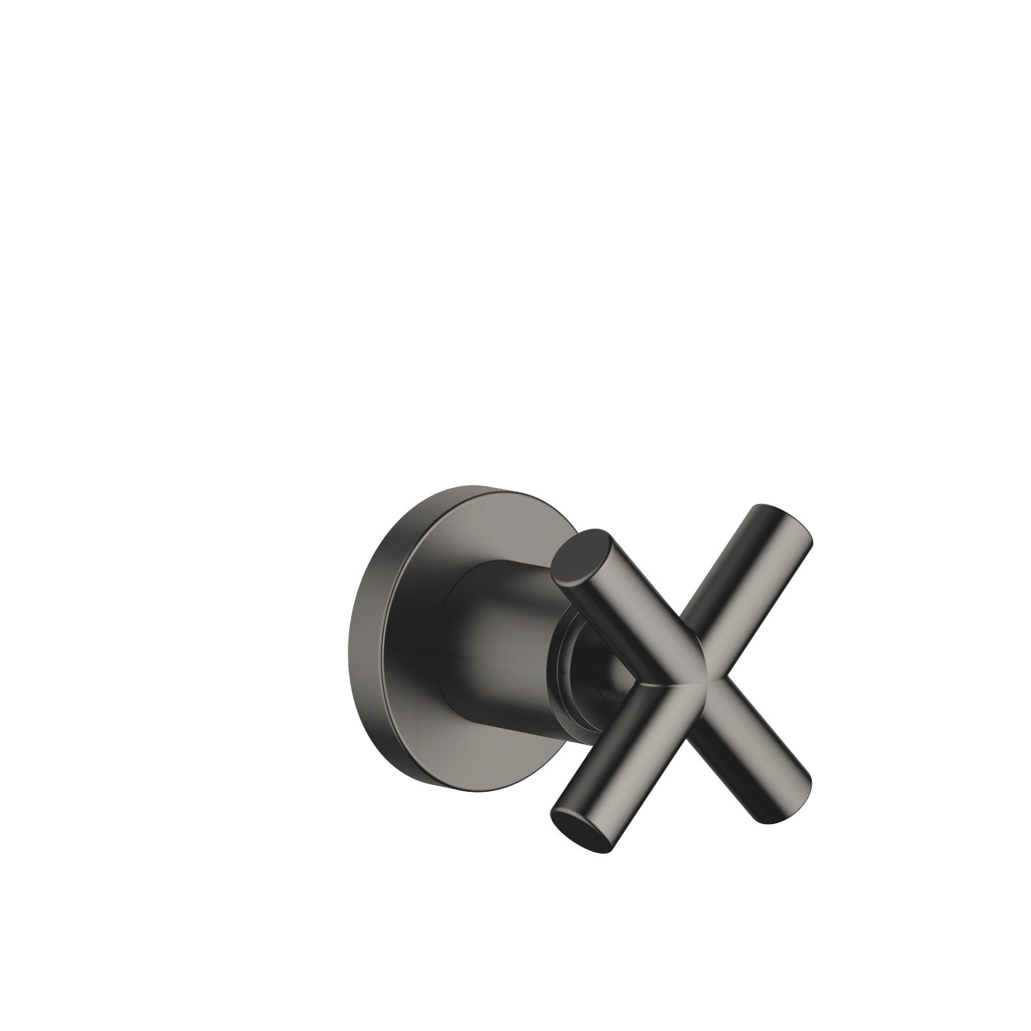 "Wall valve clockwise closing 3/4"" - Dark Platinum matt - 36 608 892-99"