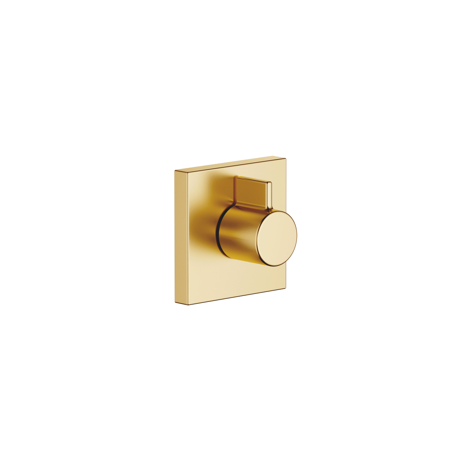 "Wall valve anti-clockwise closing 3/4"" - brushed Durabrass"