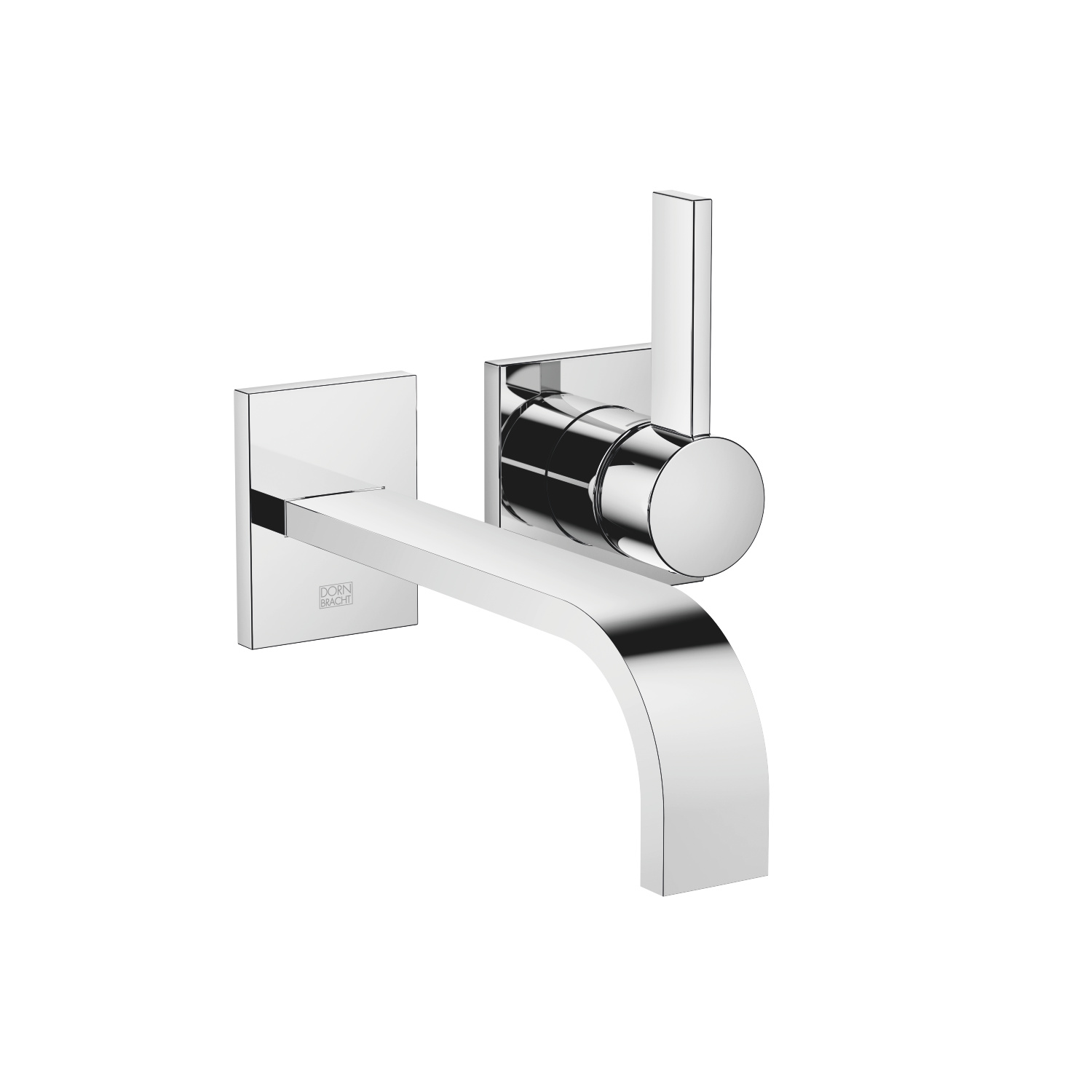 Wall-mounted single-lever mixer without drain - polished chrome - 36 861 782-00 0010