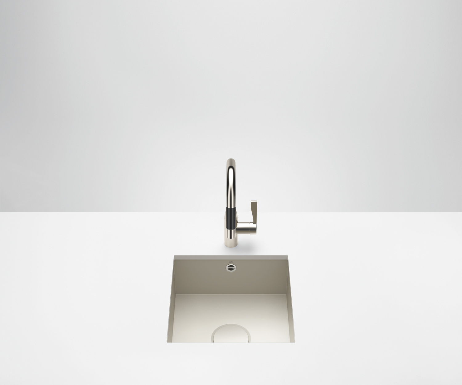 Single bowl sink - matte sand - 38 400 002-72