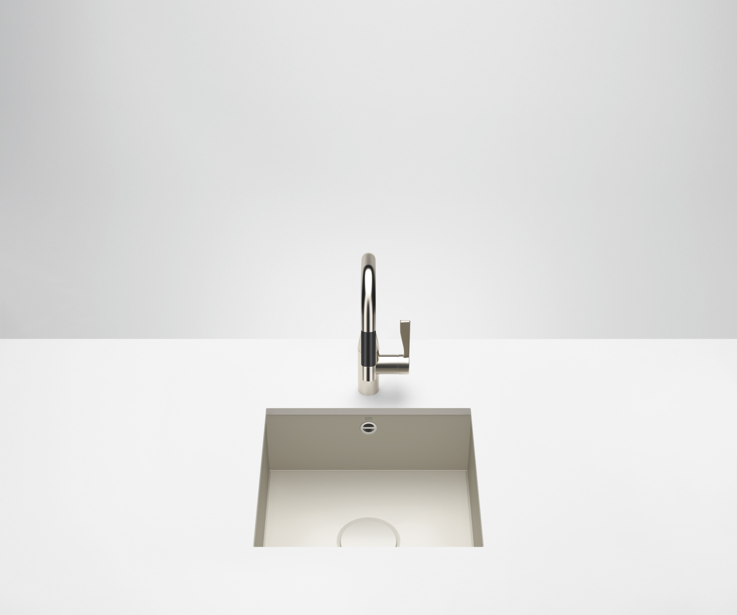 Single sink - matt sand - 38 450 002-72