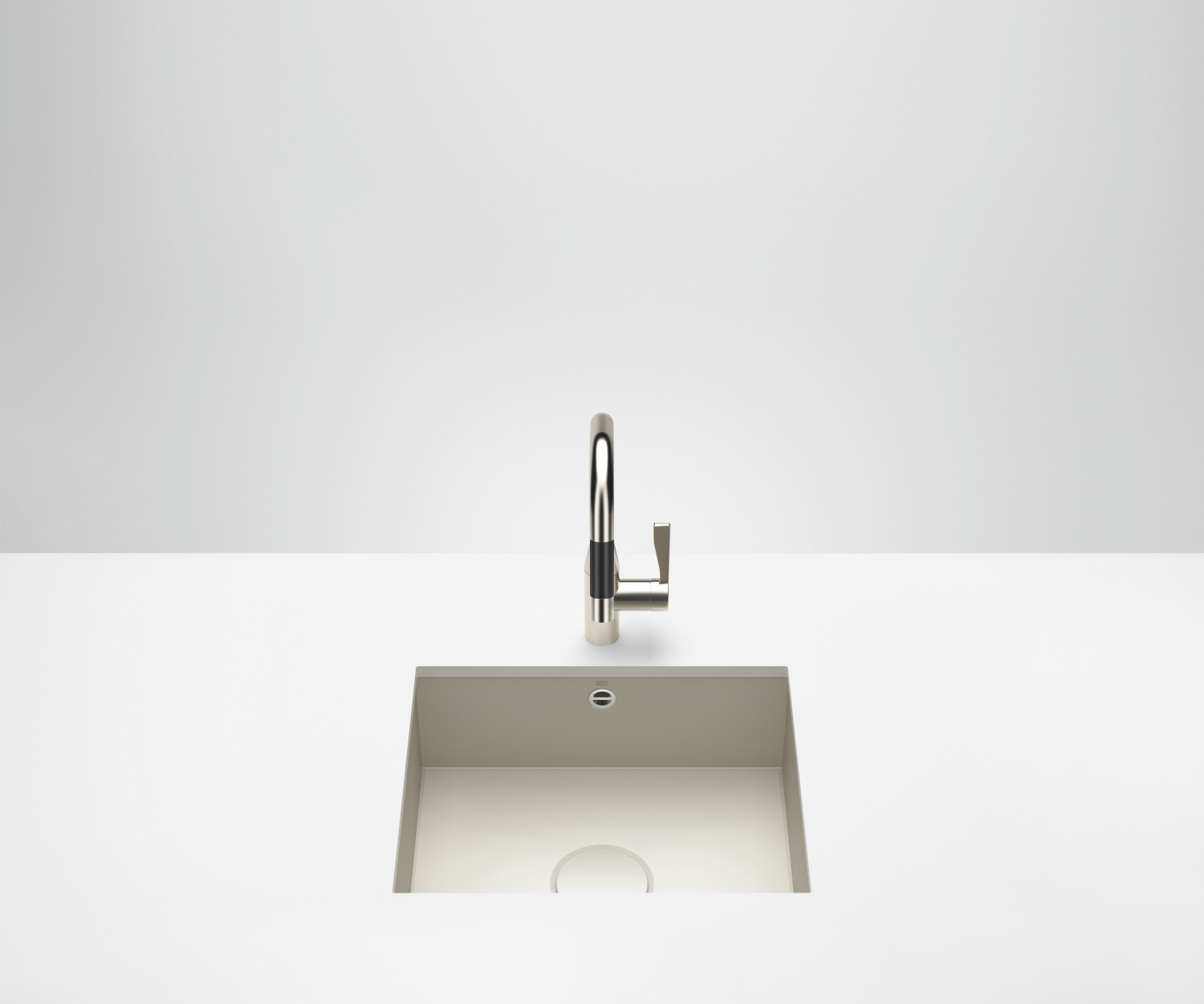 Single sink - matt sand - 38 500 002-72