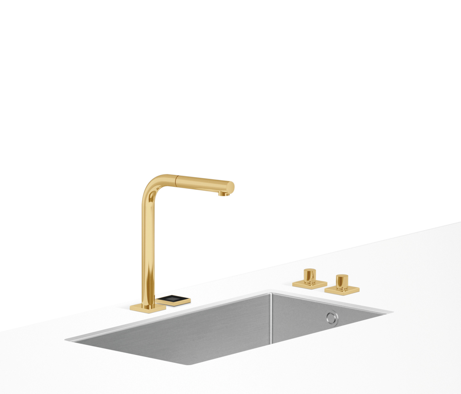 eUNIT KITCHEN Electronic functional unit - brushed Durabrass