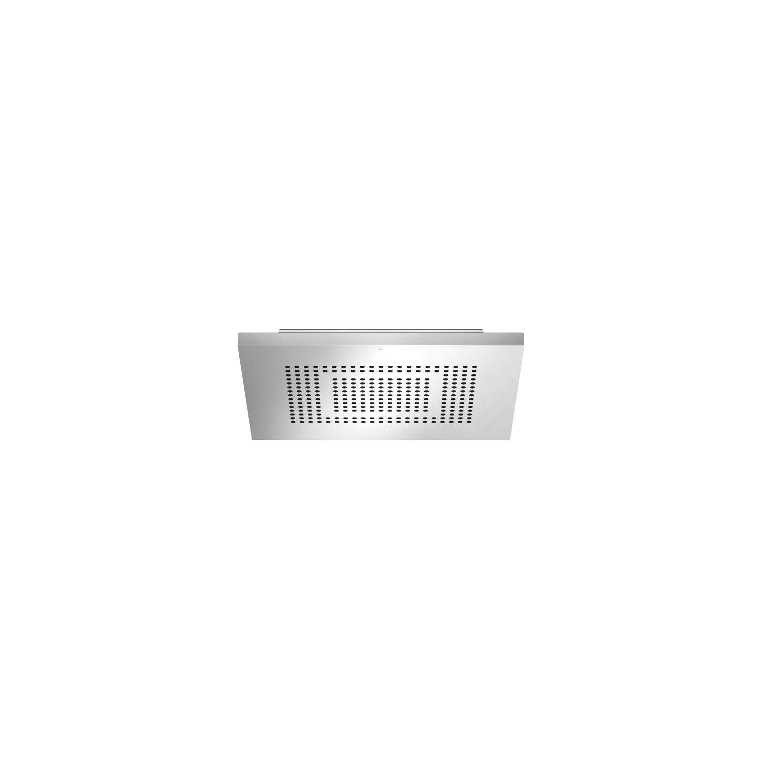 BIG RAIN Rain panel for flush ceiling installation  manual control - polished stainless steel