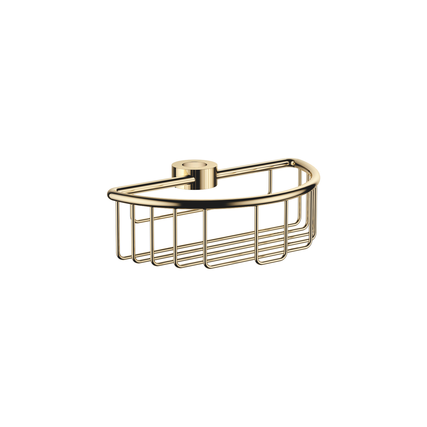 Shower basket for subsequent mounting on riser - Durabrass