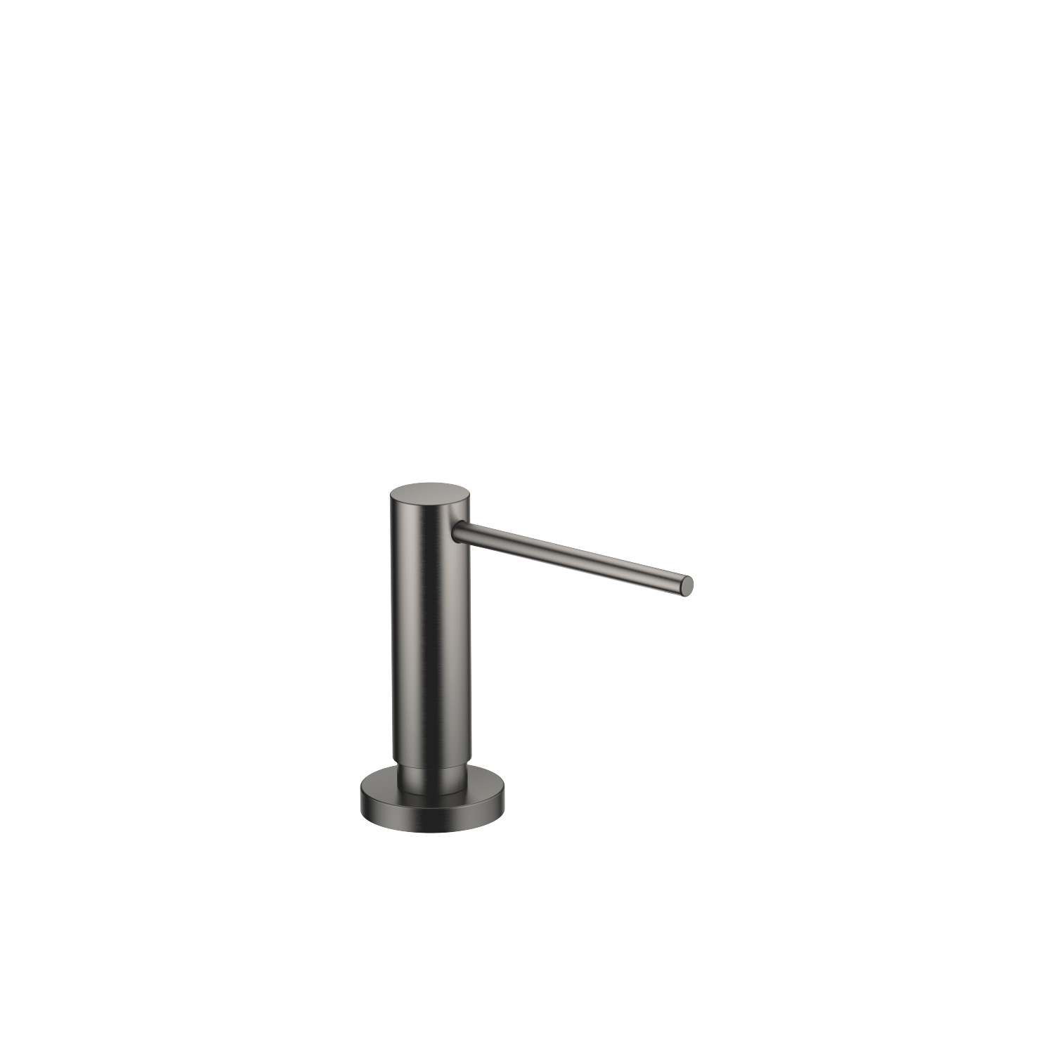 Dispensador con roseta - Dark Platinum matt