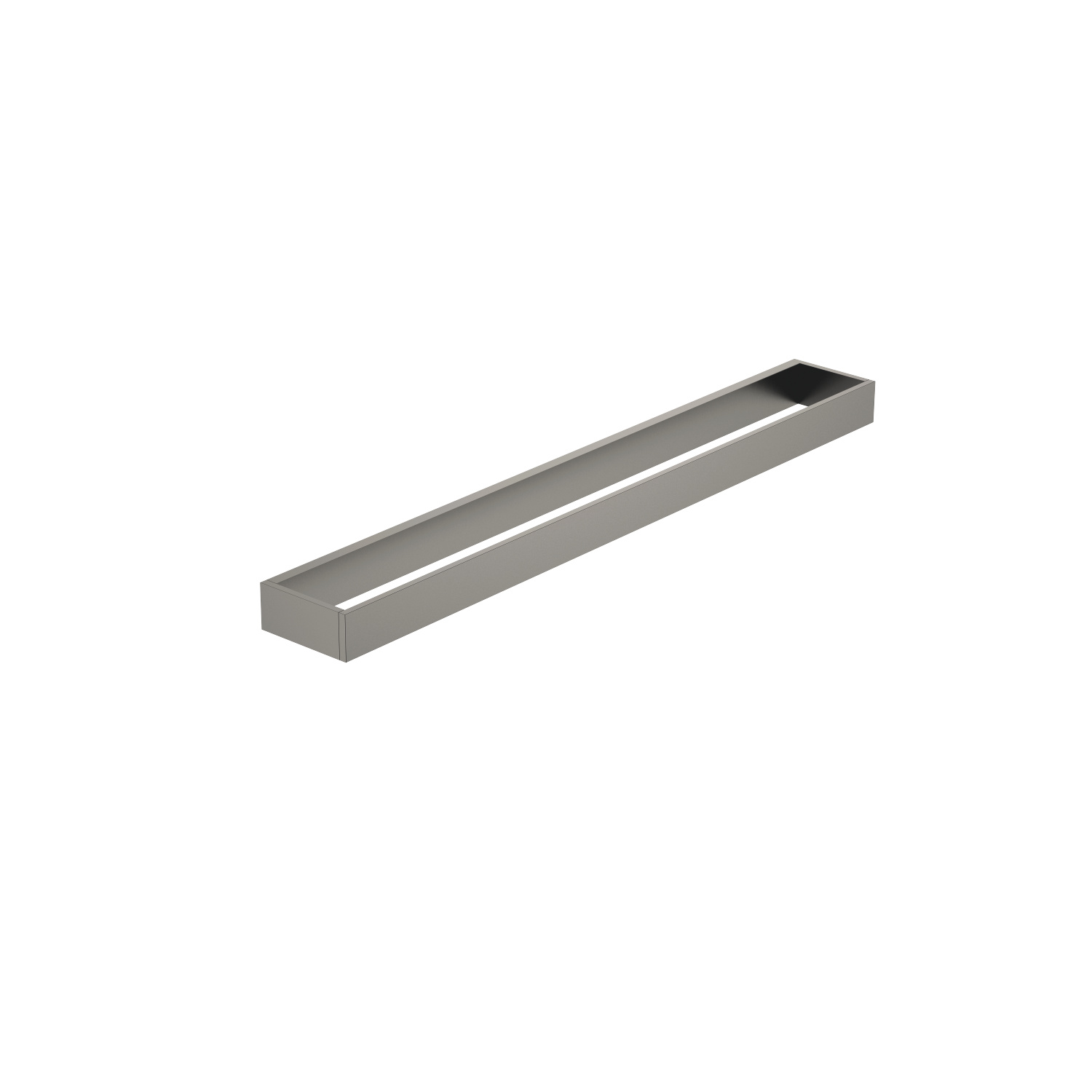 Towel bar - Dark Platinum matte