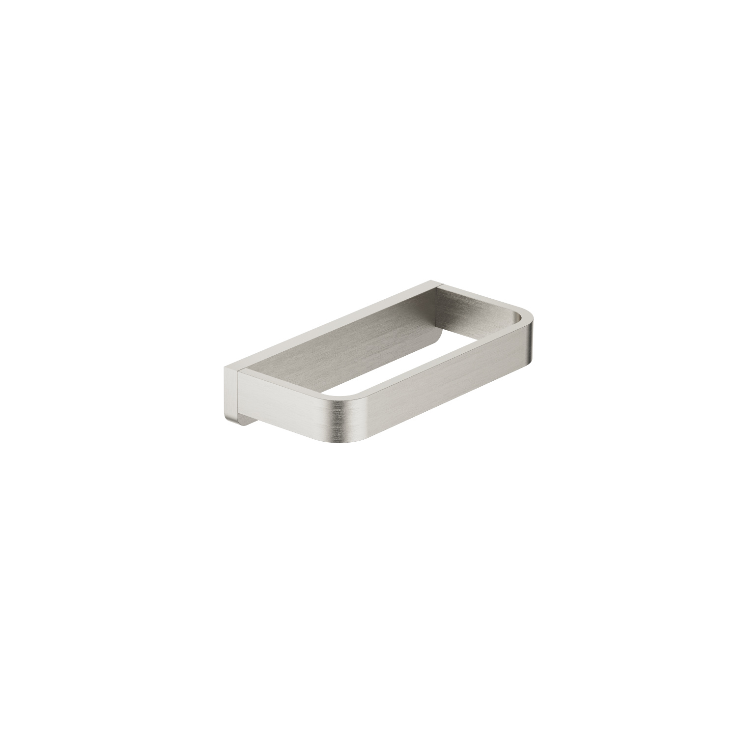 Towel ring  angular - platinum matte