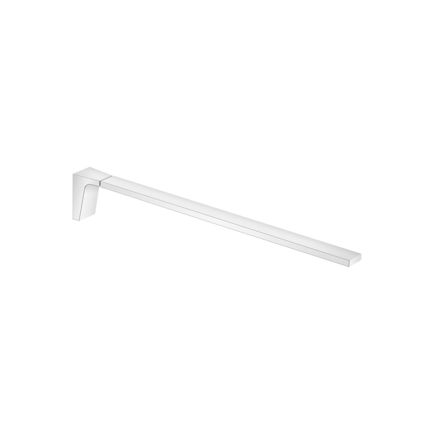 Towel bar 1-piece non-swivel - polished chrome - 83 211 705-00