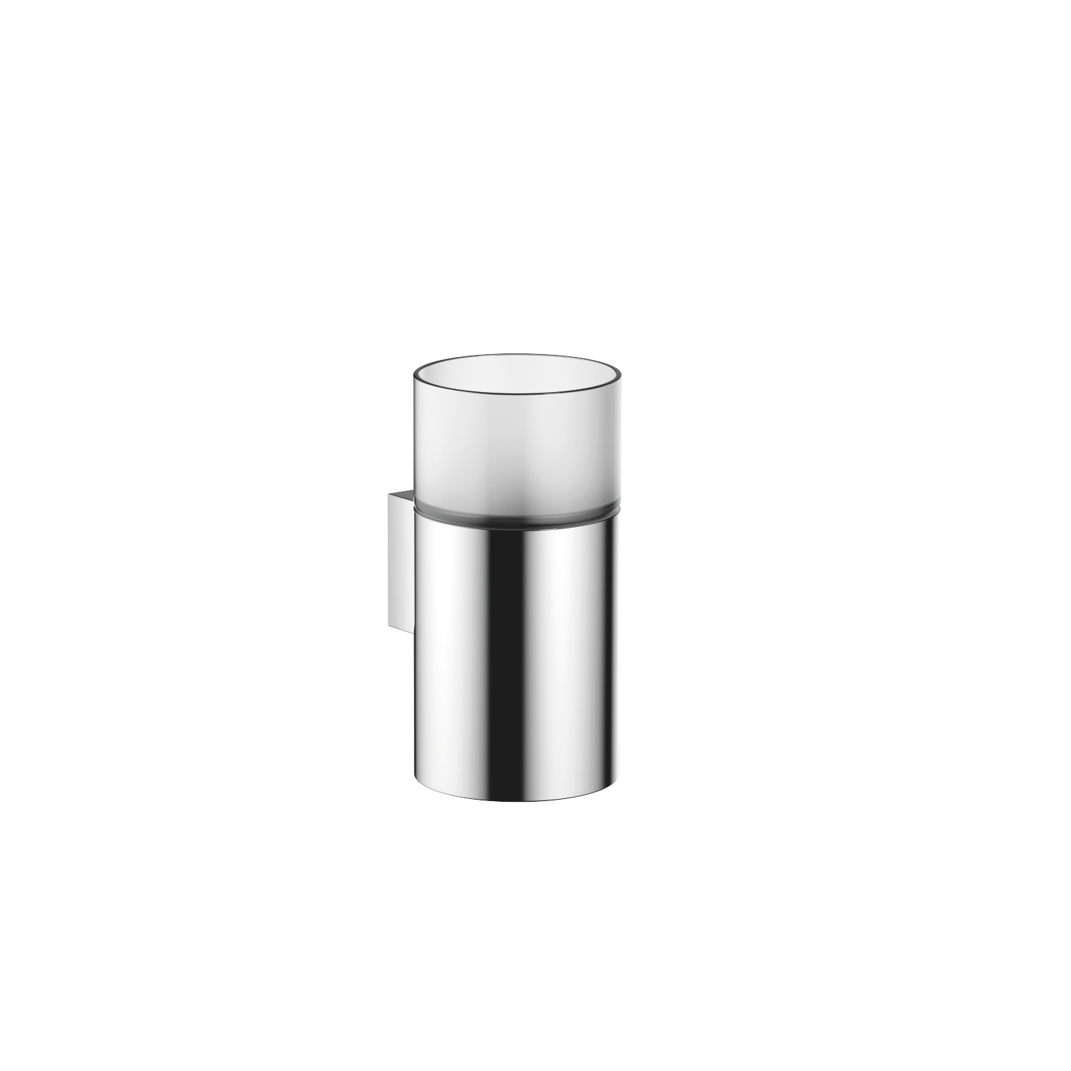 Tumbler holder wall model - polished chrome - 83 401 979-00