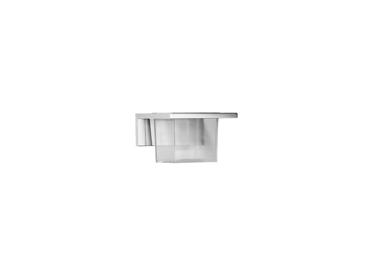 Tumbler holder wall model - platinum matt