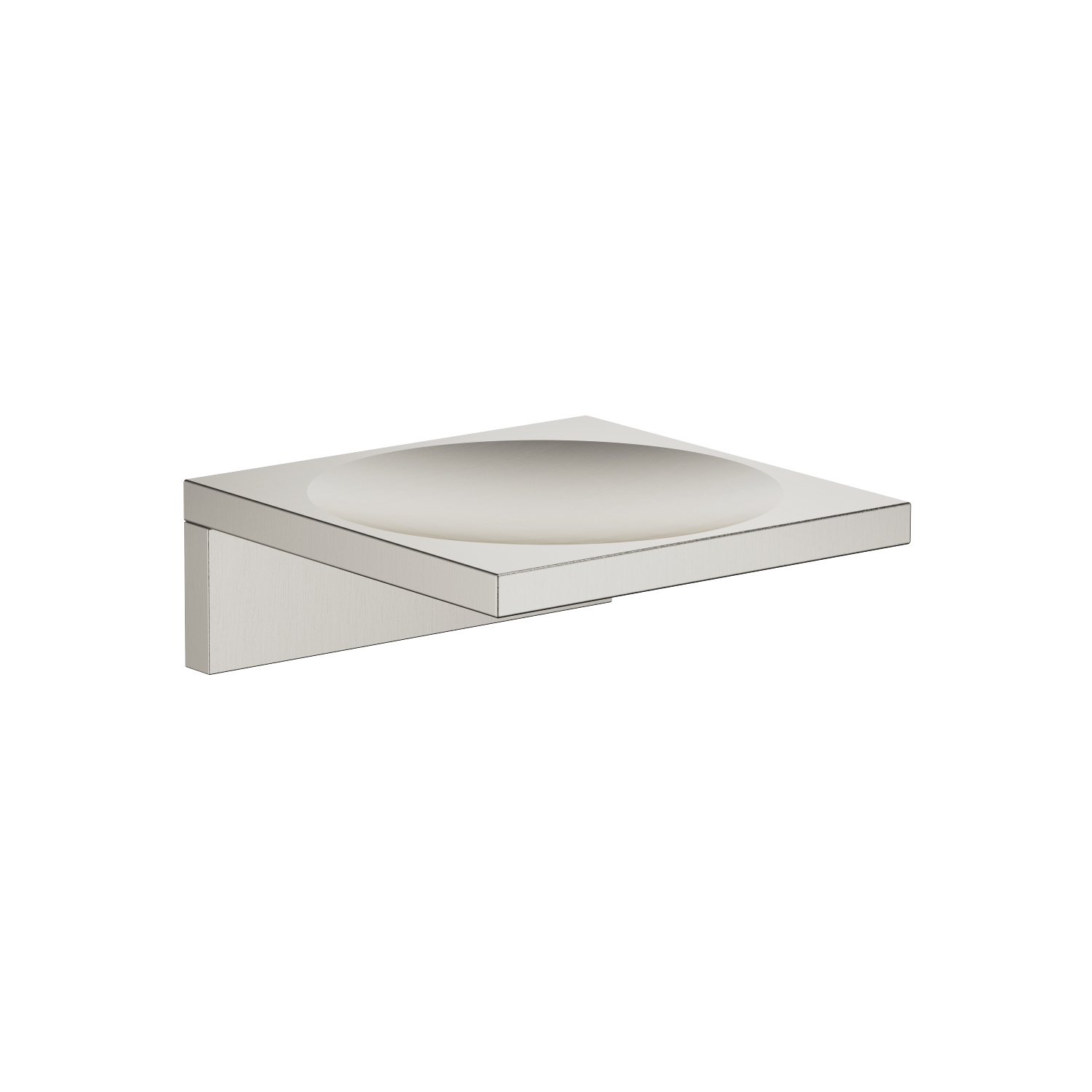 Soap dish wall model - platinum matt