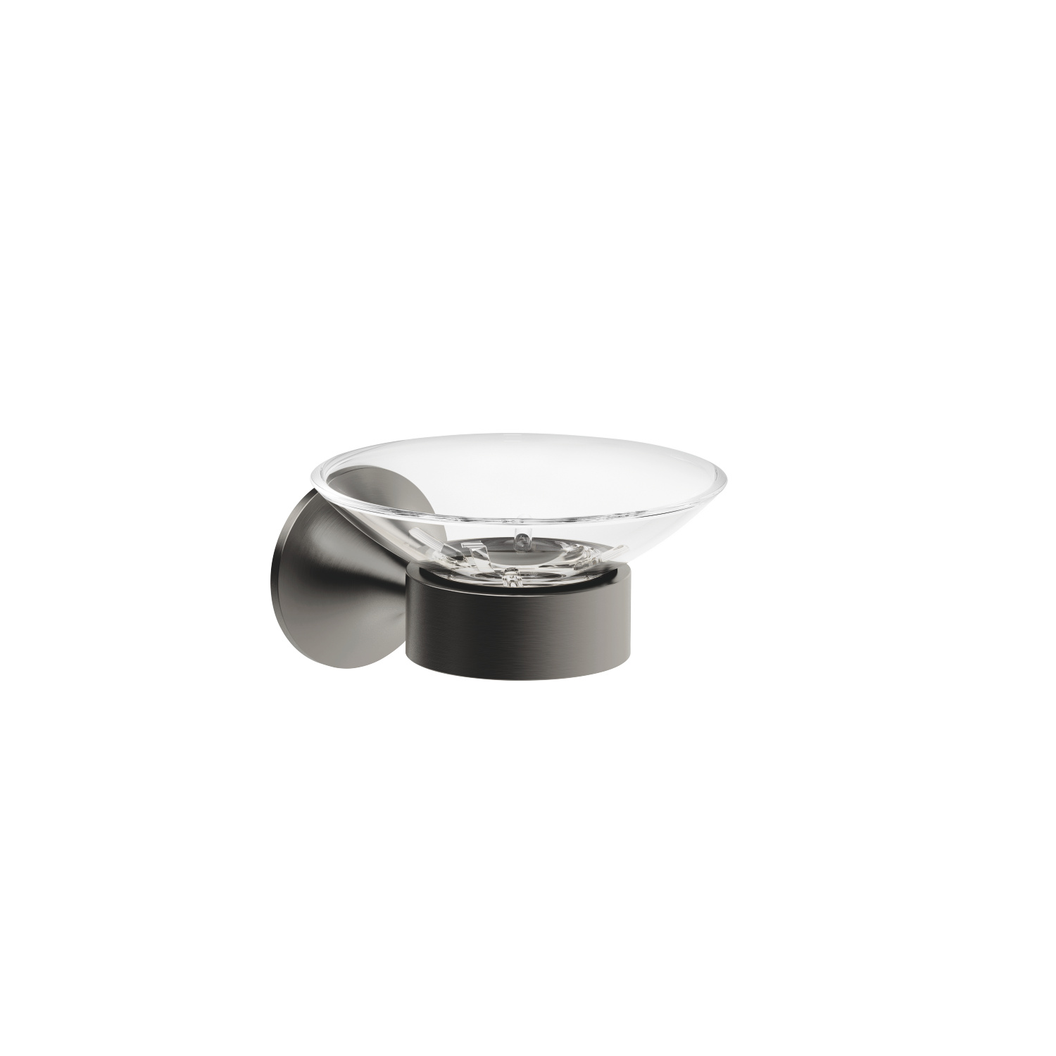 Soap dish wall model - Dark Platinum matt