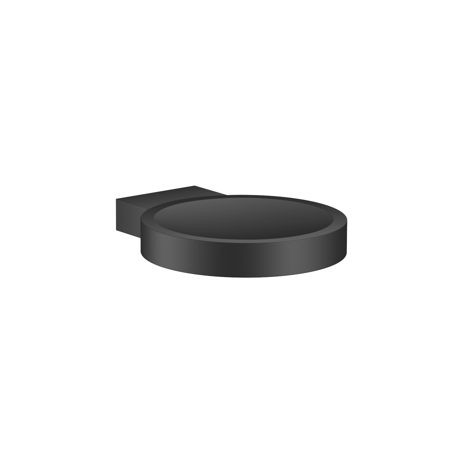 Soap dish wall model - matt black