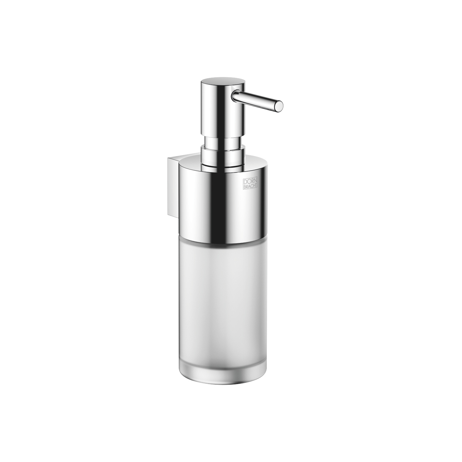 Dispenser wall model - polished chrome