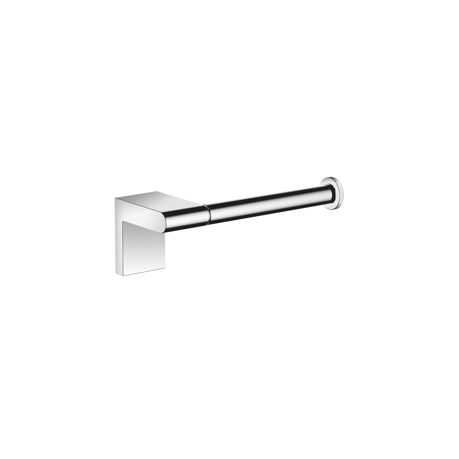 Tissue holder without cover - polished chrome