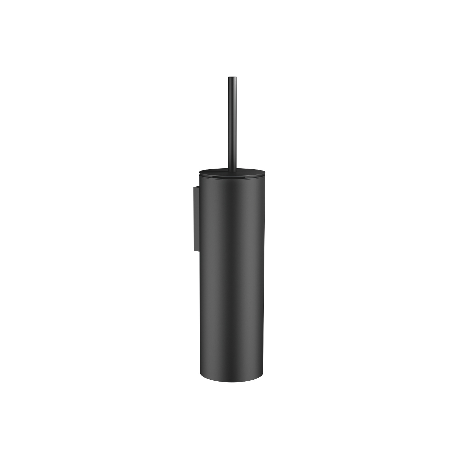 Toilet brush set wall model - matt black