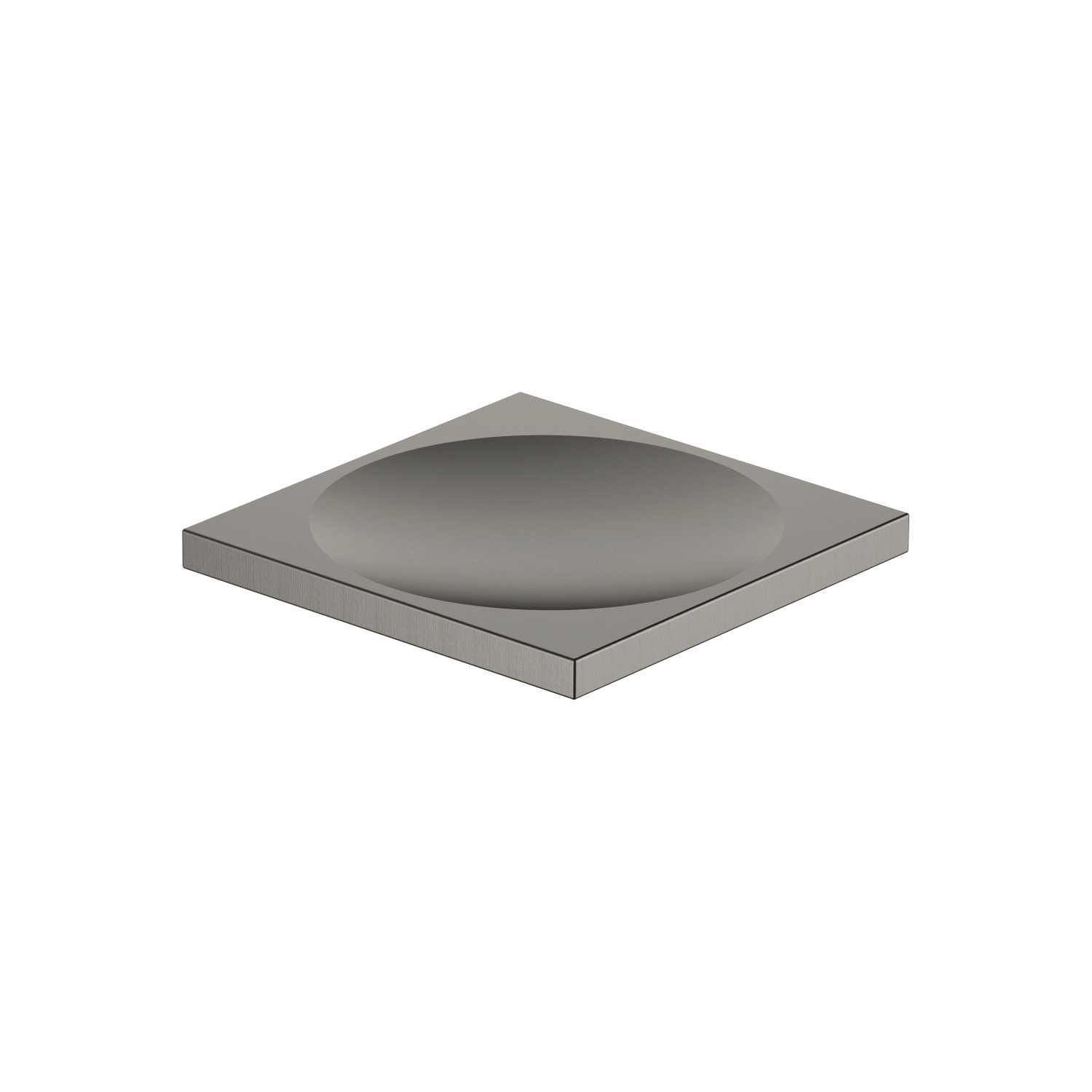 Soap dish free-standing model - Dark Platinum matt