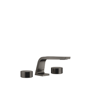 Three-hole basin mixer without pop-up waste - Dark Platinum matt - 13714705-99_1_20000740-99_1_20000741-99_1