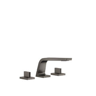 Three-hole basin mixer without pop-up waste - Dark Platinum matt - 13714705-99_1_20004705-99_1_20004706-99_1