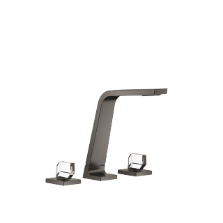 Three-hole basin mixer without pop-up waste - Dark Platinum matt - 13715705-99_1_20008705-99_1_20008706-99_1