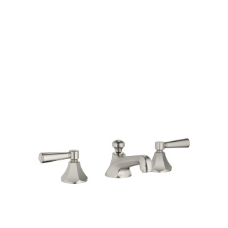 Three-hole basin mixer with pop-up waste - platinum matt - 20700370-06_1_11170370-06_2