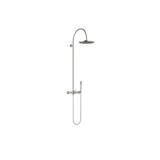 Showerpipe with shower mixer - platinum matt - 26632809-06_1_28019979-06_1
