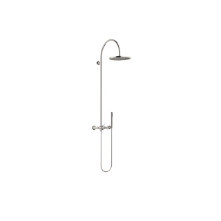 Showerpipe with shower mixer - platinum - 26632809-08_1_28019979-08_1