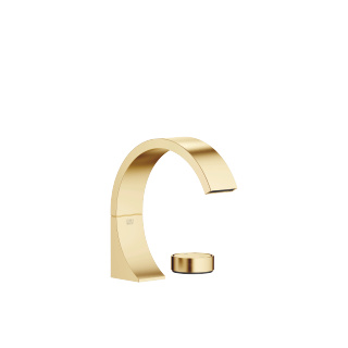 two-hole basin mixer without pop-up waste - brushed Durabrass - 29218811-280010_1_11188811-28_1