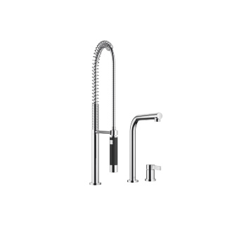 Two-hole mixer with individual rosettes with profi spray set - polished chrome - 32800790-00_1_27789970-00_1
