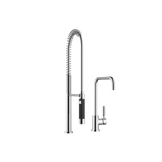Single-lever mixer with profi spray set - polished chrome - 33820625-00_1_27789970-00_1