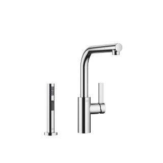Single-lever mixer with rinsing spray set - polished chrome - 33826790-000010_1_27721970-00_1