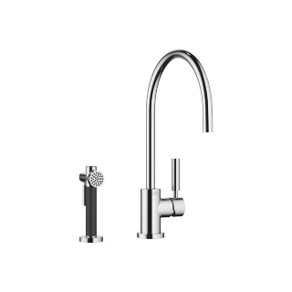 Single-lever mixer with rinsing spray set - polished chrome - 33826888-00_1_27718970-00_1