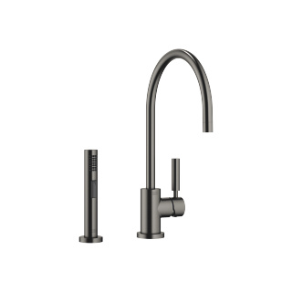 Single-lever mixer with rinsing spray set - Dark Platinum matt - 33826888-99_1_27721970-99_1