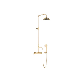Exposed shower set with shower thermostat - Durabrass - 34459360-090010_1_11420360-09_1_28002978-09_1
