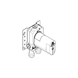 Concealed single-lever mixer with backflow preventor - - 3502197090