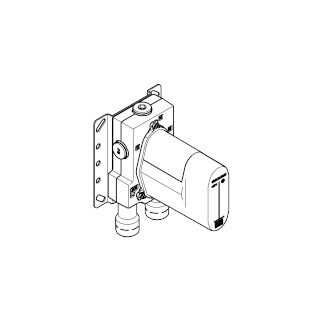 Concealed thermostat - - 3542597090