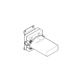 xGATE Concealed mixer valve with volume control - - 35691970-900010