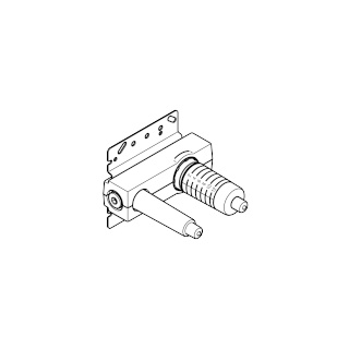 Concealed wall-mounted single-lever mixer - - 35860970-900010