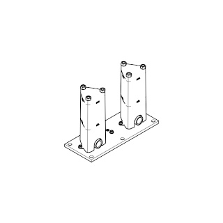 Floor mounting rough set - - 35944970-900010