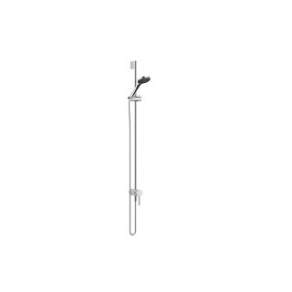 Concealed single-lever mixer with integrated shower connection with shower set - polished chrome - 36111970-00_1_28018979-00_1