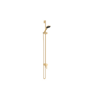 Concealed single-lever mixer with integrated shower connection with shower set - brushed Durabrass - 36111970-28_1_28018979-28_1