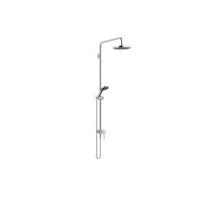 Showerpipe with single-lever shower mixer - platinum - 36112970-08_1_28015979-08_1
