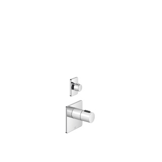 xTOOL thermostat with one volume control - polished chrome - 36416710-00_1_36310710-00_1