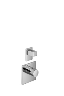 xTOOL thermostat with one volume control - polished chrome - 36416780-00_1_36310730-00_1