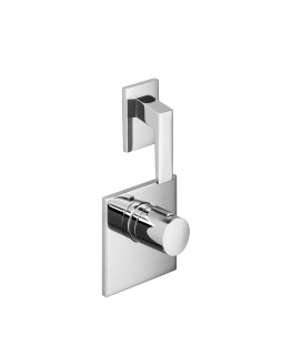 xTOOL thermostat with one volume control - polished chrome - 36416780-00_1_36310732-00_1